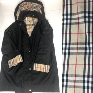 Burberry London Brittany Raincoat size 10